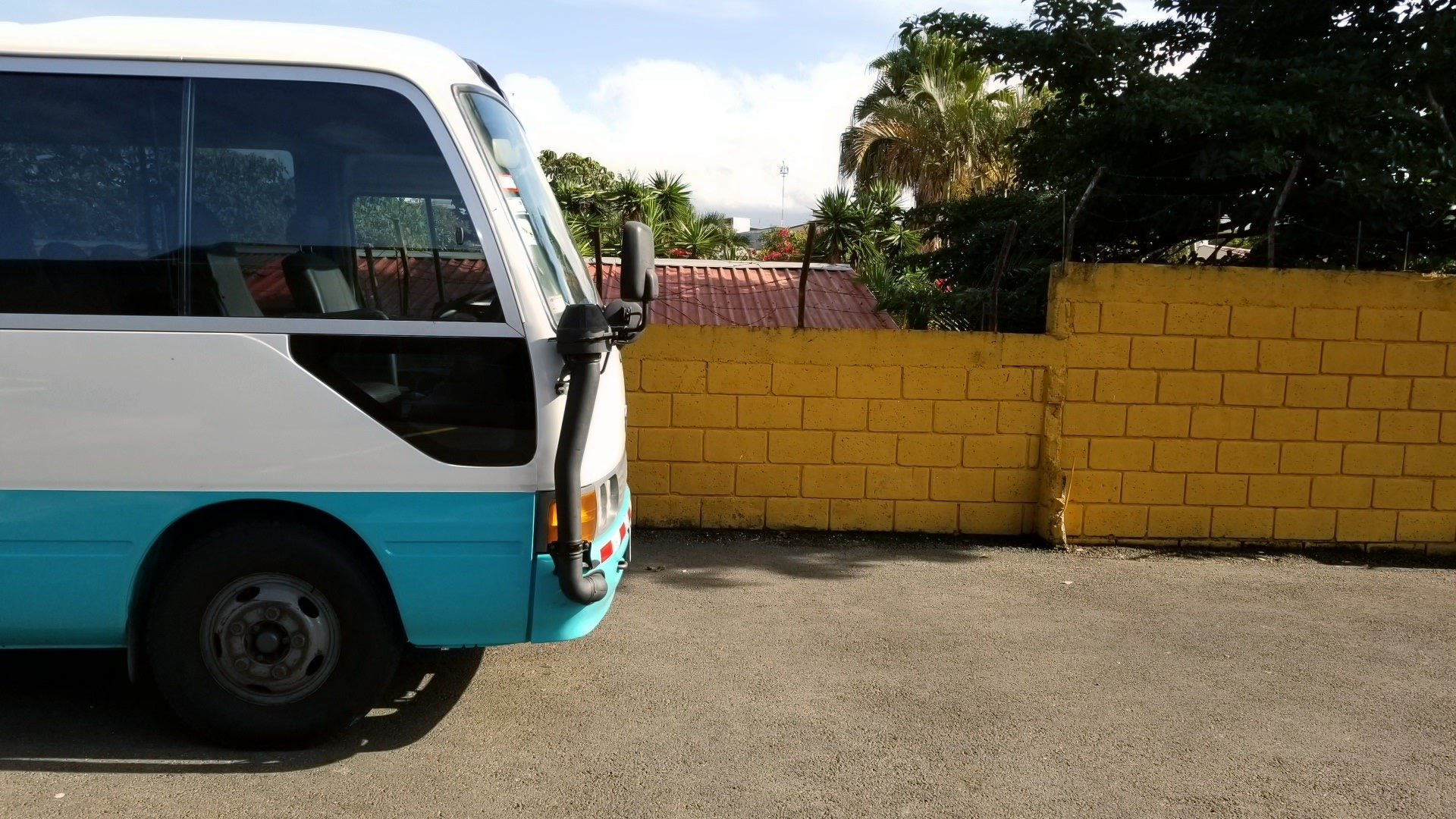 Bus, Wall, Costa Rica, Photographer, Photography, Missions