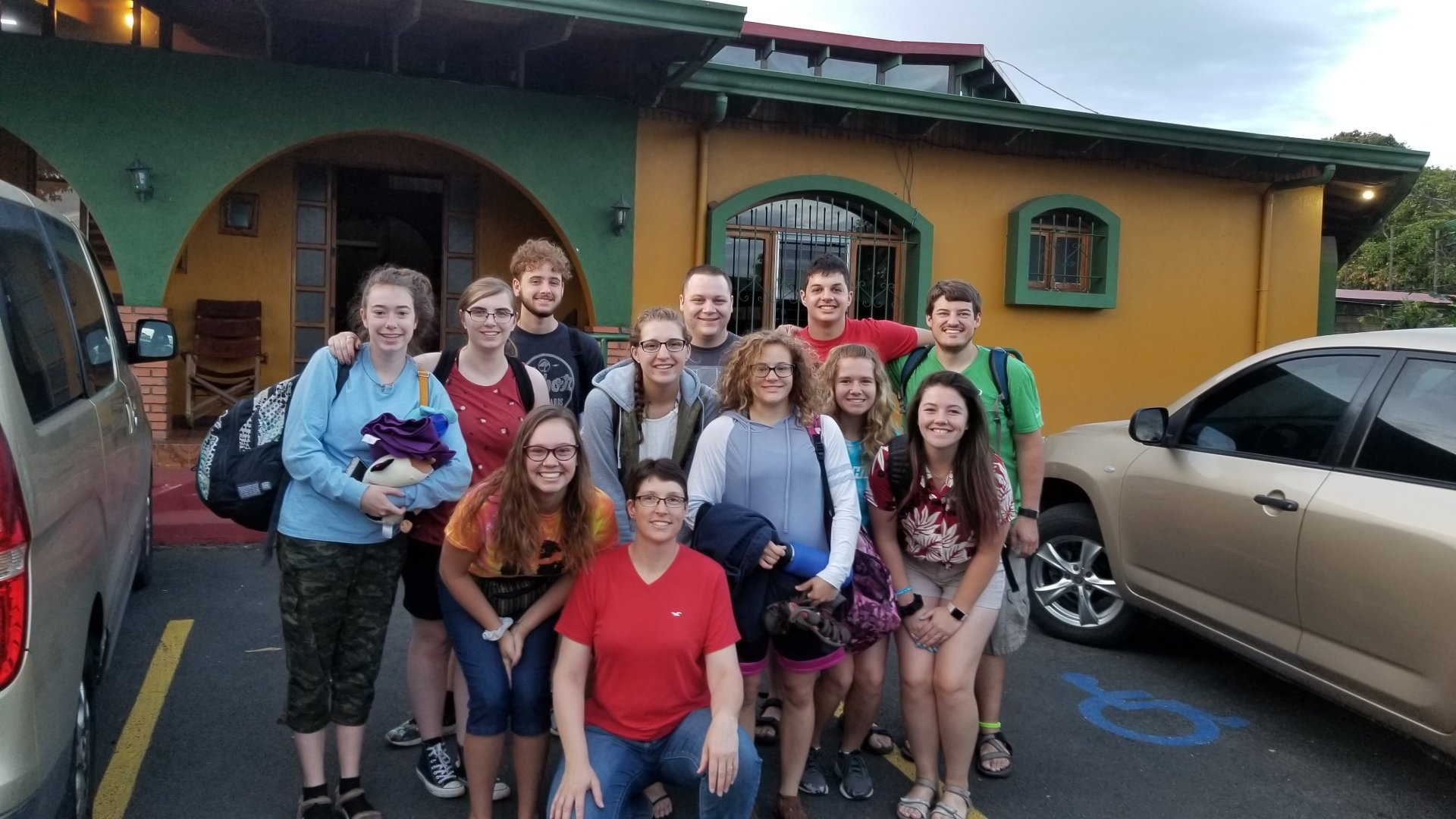 Costa Rica, Missions, Team